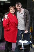 Tina Malone and husband Paul