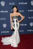 Jenna Dewan, Oasis Courtyard at the Beverly Hilton Hotel, Golden Globe Awards, Beverly Hilton Hotel