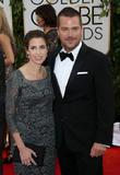Chris O'Donnell, Caroline Fentress, Golden Globe Awards, Beverly Hilton Hotel