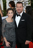 Chris O'donnell and Caroline Fentress