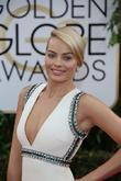 Margot Robbie, Golden Globe Awards, Beverly Hilton Hotel