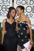 Zoe Saldana and Cicely Saldana