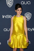 Isabelle Fuhrman, Oasis Courtyard at the Beverly Hilton Hotel, Golden Globe Awards, Beverly Hilton Hotel