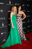 Taylor Schilling, Laura Prepon, The Beverly Hilton Hotel, Golden Globe Awards, Beverly Hilton Hotel