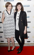 Lena Dunham and Felicity Jones