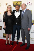 Janet Healy, Pharrell Williams and Christopher Meledandri