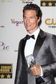 Matthew McConaughey, The Barker Hangar, Critics' Choice Awards