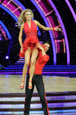 Abbey Clancy and Aljaz Skorjanec