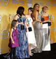 Aubrey Anderson-Emmons, Ariel Winter, Sarah Hyland, Sofia Vergara, Julie Bowen, The Shrine Auditorium, Screen Actors Guild