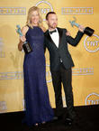 Anna Gunn, Aaron Paul, The Shrine Auditorium, Screen Actors Guild