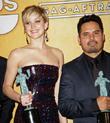 Jennifer Lawrence, Michael Pena, The Shrine Auditorium, Screen Actors Guild