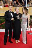 Tom Hanks, Emma Thompson and Rita Wilson
