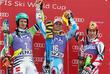 Alpine, Felix Neureuther, Sieger Alexis Pinturault and Marcel Hirscher