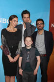 Minnie Driver, David Walton, Al Madrigal and Benjamin Stockham