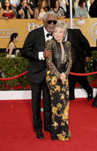 Rita Moreno and Morgan Freeman