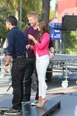 Sean Lowe, Catherine Guidici and Mario Lopez