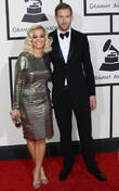 Calvin Harris, Rita Ora, The Staples Center, Grammy Awards