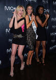 Shanna Moakler, Nia Sanchez, Miss Nevada 2014 and Guest