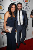 Nicki Richards, Guillermo Diaz, The Beverly Hilton Hotel, Grammy, Beverly Hilton Hotel