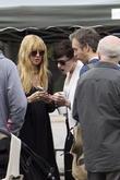 Anne Hathaway, Adam Shulman and Rachel Zoe