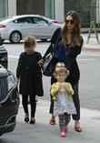 Jessica Alba, Honor Warren and Haven Warren