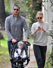 Molly Sims, Brooks Stuber and Scott Stuber