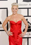 Pink Takes Newborn Son On Women's March