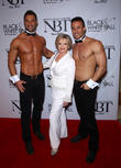 Florence Henderson and Chippendales