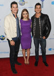 Max Carver, Holland Roden, Charlie Carver and Universal Music