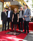 Cheryl Hines, Peter Roth, Jeremy Sisto, Larry David, Kevin Nealon, Hollywood Walk of Fame