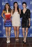 Marlee Roberts, Courtney Baxter and Pilar Lopez De Ayala