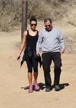 Lea Michele Hiking In Runyon Canyon