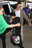 Angelina Jolie, Brad Pitt and Maddox Chivan Jolie-pitt
