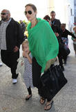 Angelina Jolie, Vivienne Marcheline Jolie-pitt, Zahara Marley Jolie-pitt and Knox Leon Jolie-pitt