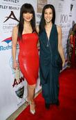 Kelly Hu and Lisa Ling