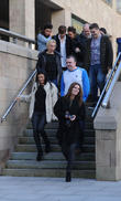 Kym Marsh, Alison King, Emily Cunliffe, Pauline Marsh, Dave Marsh, David Cunliffe, Britains Got Talent
