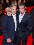 George Clooney and Jean Dujardin