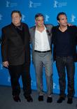 John Goodman, George Clooney and Jean Dujardin