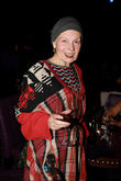 Vivienne Westwood Supports Climate Change With Shaved Head