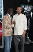 Michael K. Williams and Jesse Williams