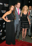 Kyle Richards, Jamie Kennedy and Camille Grammer