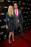 Tara Reid and Jamie Kennedy