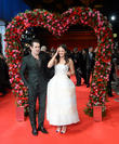 Colin Farrell and Jessica Brown Findlay