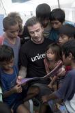 David Beckham and Philippines