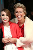 Emma Thompson and daughter Gaia Romilly Wise