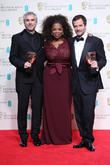 Oprah Winfrey, Alfonso Cuaron and David Heyman