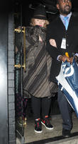 Adele seen leaving a Prince gig at the famous Ronnie Scott's Jazz Club