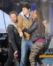 Ian Ziering and Vivica A. Fox
