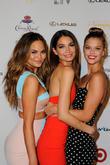 Models Chrissy Teigen, Lily Aldridge and Nina Agdal