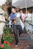 Reggie Bush and Briseis Bush